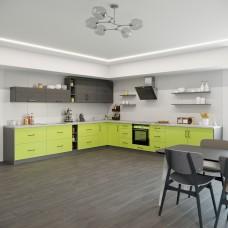 Кухня Оптима угловой набор 6.7м