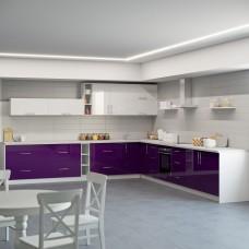 Кухня Модерн угловой набор 6.7м