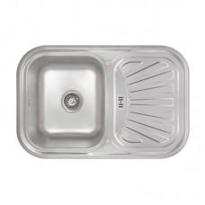 Кухонная мойка LIDZ 7549-D Decor 0,8 мм