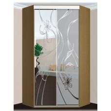 Шкафы-купе 2-х дверные УГЛОВЫЕ
