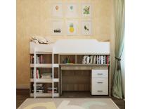 Кровать-чердак Микс 80х190